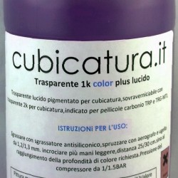 NEW - Trasparente 2k color plus - BLU