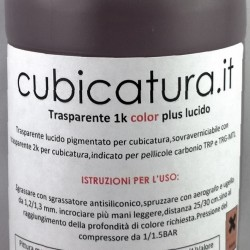 NEW - Trasparente 2k color plus - FUME' CALDO